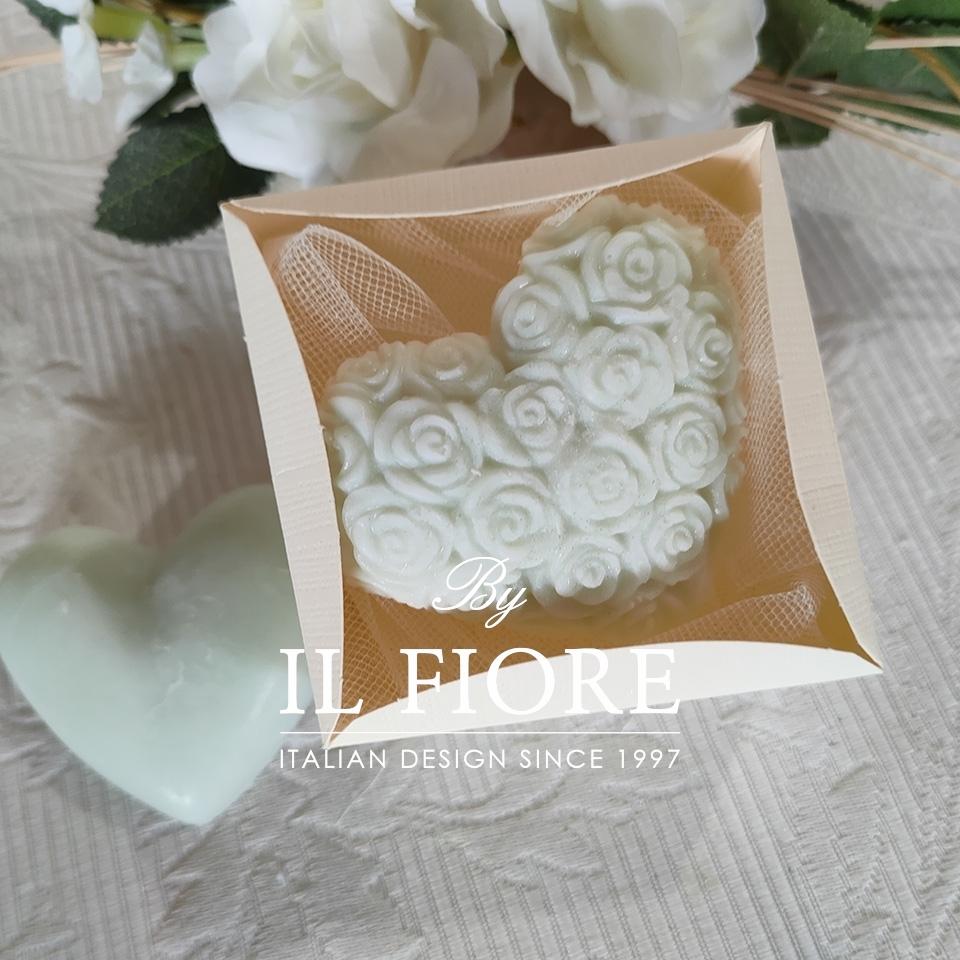Bomboniera candela Cuore thumb cover