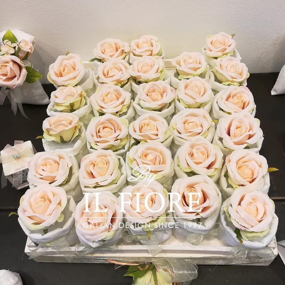 Bomboniere  Cresima  sacchetti portaconfetti con fiori thumb cover