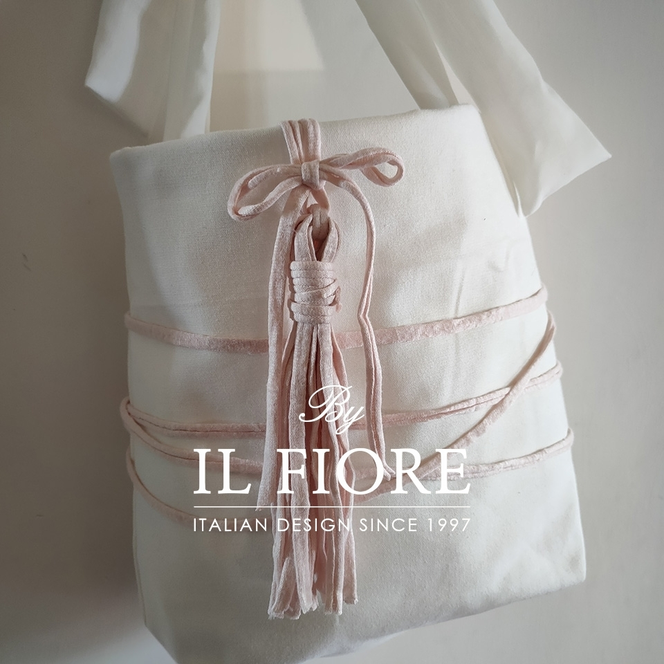 Borse con manico a fiocco e nappina Bag donna thumb cover
