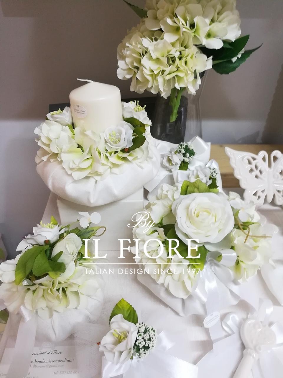 Bomboniere Matrimonio Bouquet Sposa pouf thumb