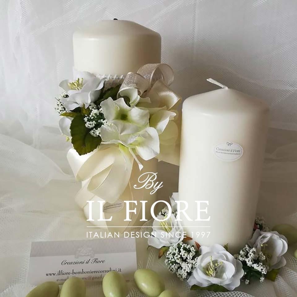 Bomboniere Utili Matrimonio Candele con Fiori thumb cover