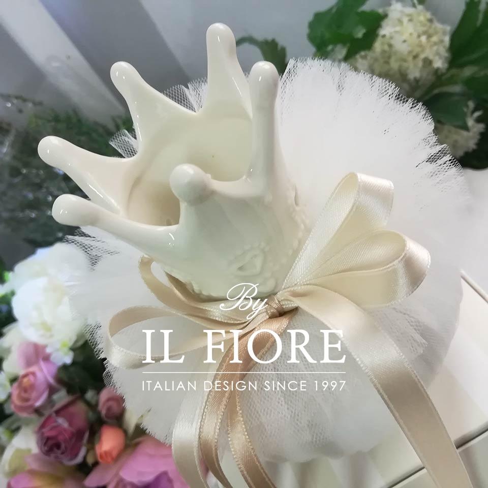 Bomboniera Comunione  Corona Principessa in Ceramica thumb cover