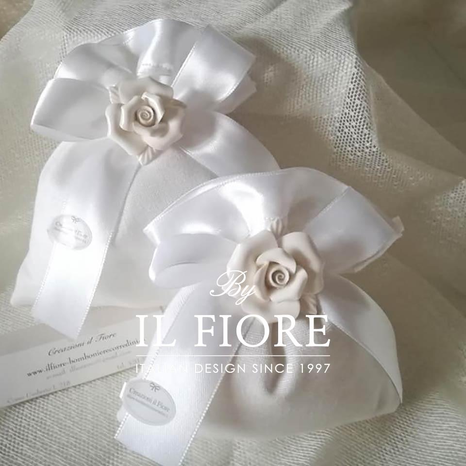 Bomboniere Comunione, Cresima e matrimonio Rosa in Ceramica thumb cover