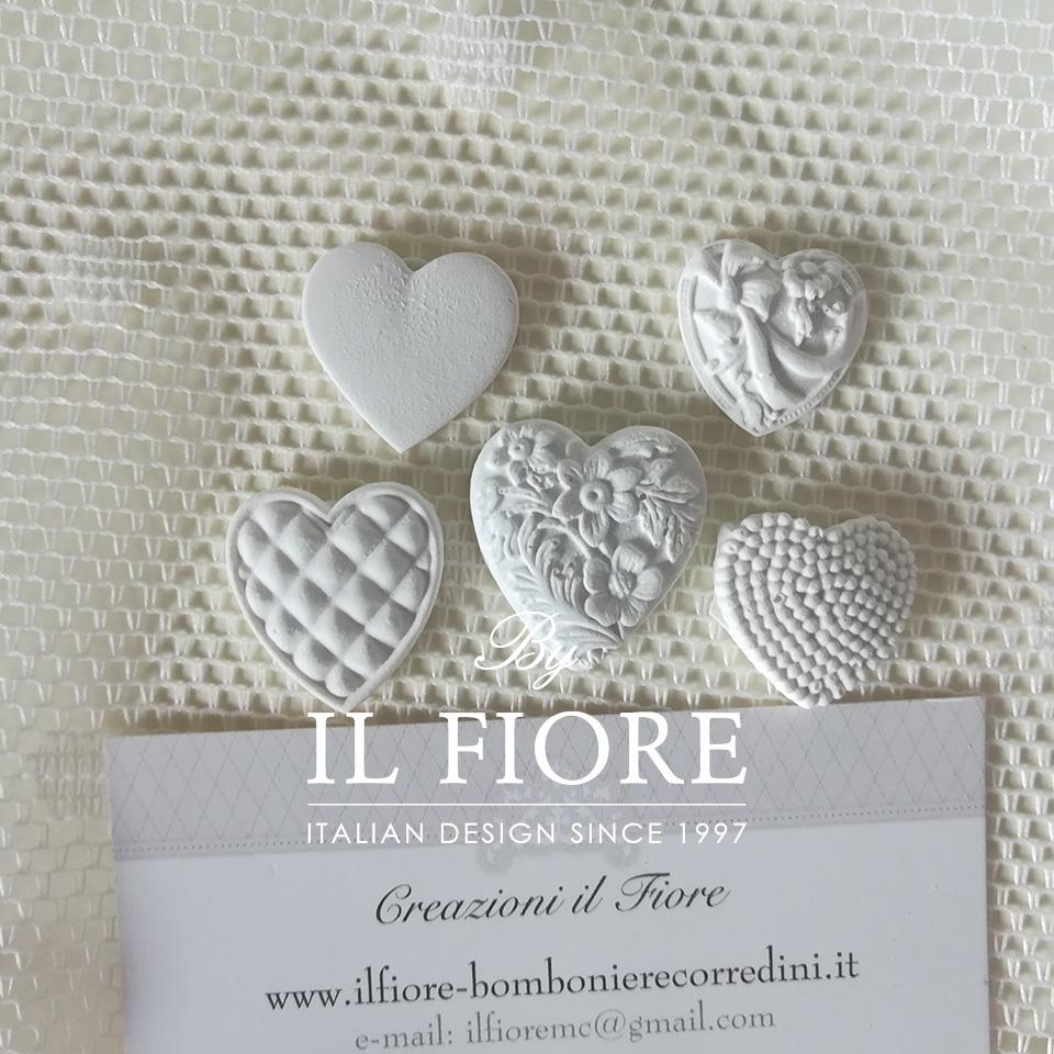 Bomboniera matrimonio scatola portaconfetti con cornice 01580
