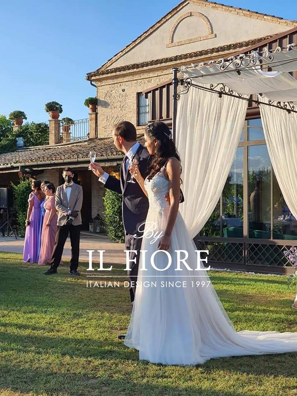 Il bellissimo matrimonio al profumo di lavanda di Eugenio e Monia 02050
