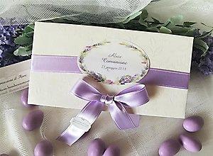 Bomboniera  scatola con confettata con etichetta personalizzabile cod 61F
