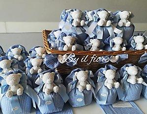 Le dolcissime bomboniere per il Battesimo di Giacomo by il Fiore