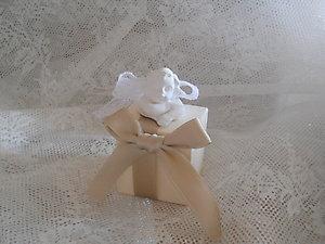 Bomboniera  comunione scatola con gessetto profumato Cod. 9Z