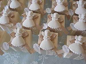 Bomboniera scatola portaconfetti con angeli Cod. 20Z