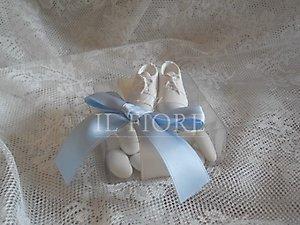 Scatola con scarpette per vedere tutta la linea scarpette bebè visionare la linea battesimo