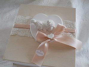 Scatola regalo grande con bebè e cuore cod. 82B - 82B1 NOVITA'