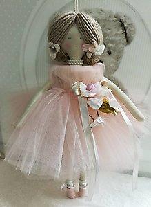 Bambola ballerina grande bomboniera battesimo - comunione cod. TUL01