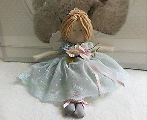 Bambola fatta a mano in pizzo cod. TAF15