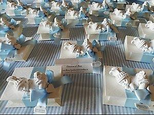 Bomboniera  scatola con gessetto neonato  cod. 59B