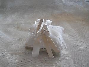 Sacchetto cuscino con scarpette danza cod 75V