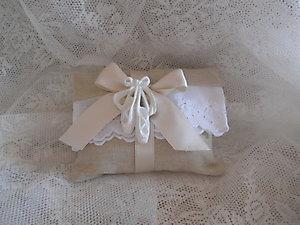 Sacchetto busta con gessetto scarpette ballerine Cod. 60 V