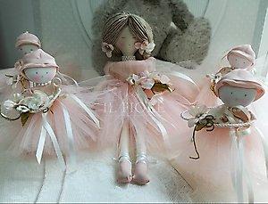 Bomboniera Comunione Cresima bambolina ballerina cod. TUL01 - TUL02