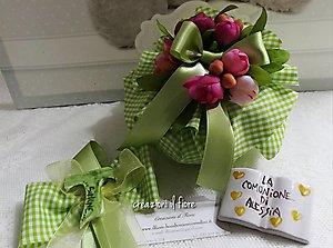 Bomboniere comunione cresima matrimonio scatola  cod. 5H-6H-7H
