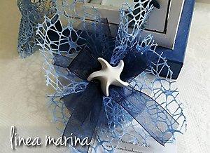 Ciuffetto con stella marina gessetto cod. 24m