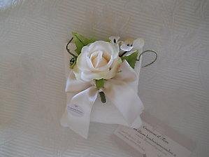 Sacchetto in lino con fiore cod.56EF