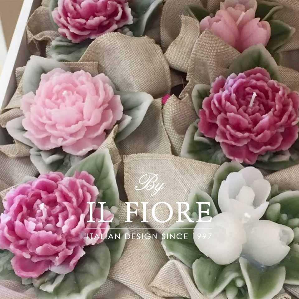 Bomboniera Candela Bouquet