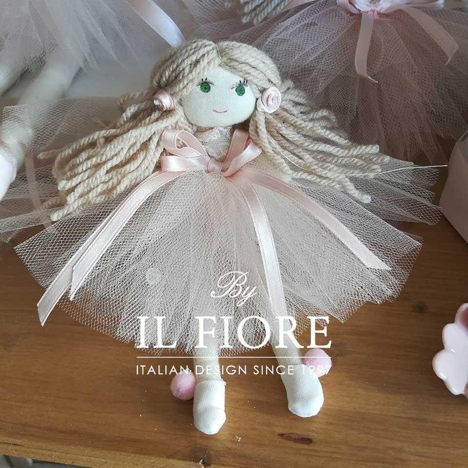 Bomboniera Battesimo bambola Minou