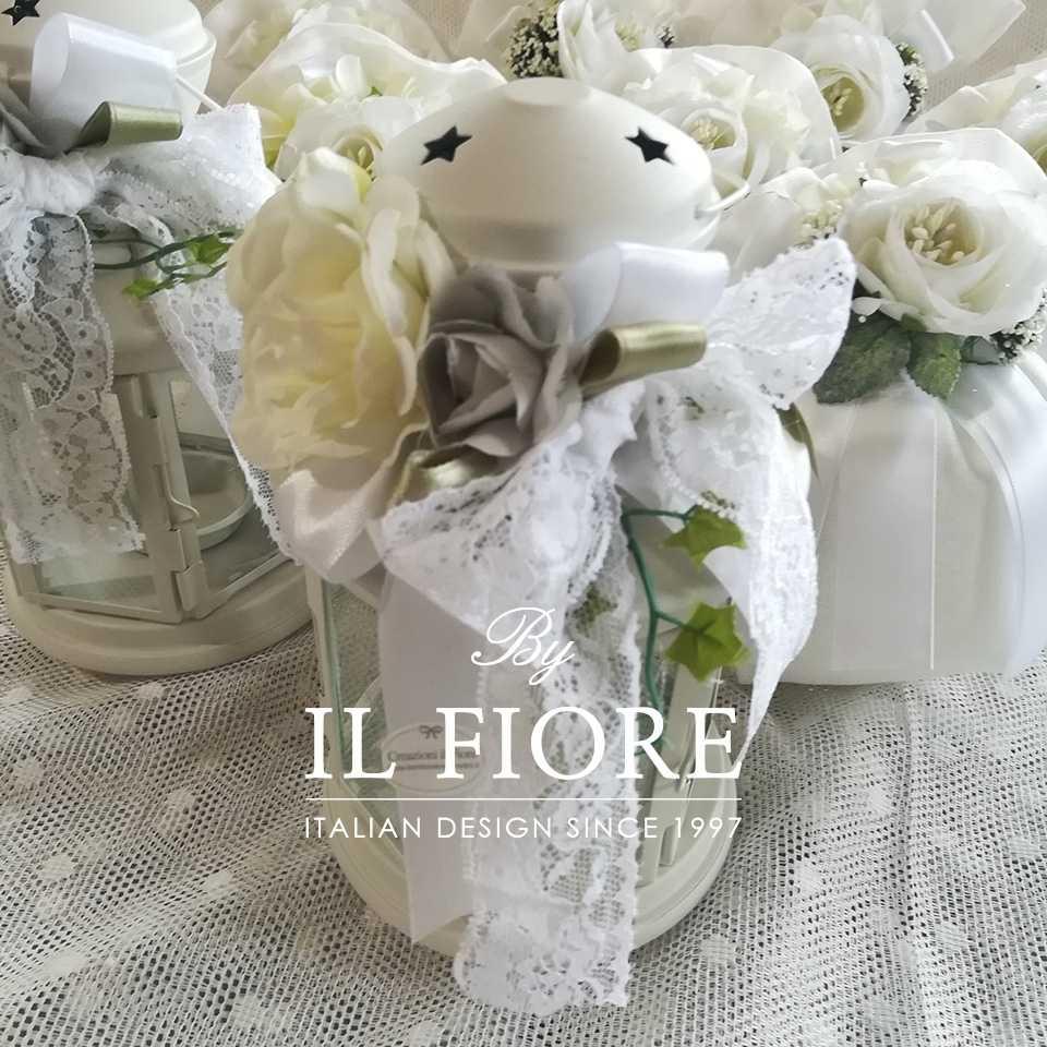 Bomboniere Fiori Fiori Bomboniera matrimonio lanterna con fiori