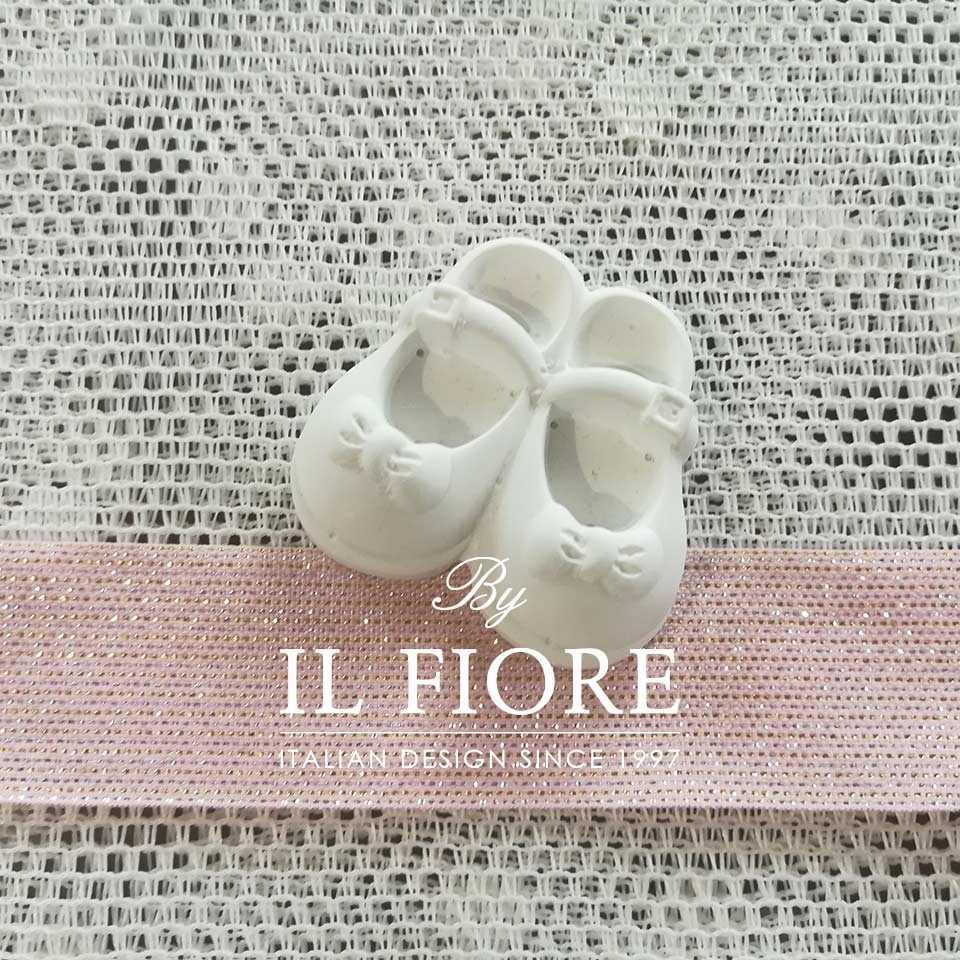 Piccoli - Gessetti Scarpine con fiocco bimba
