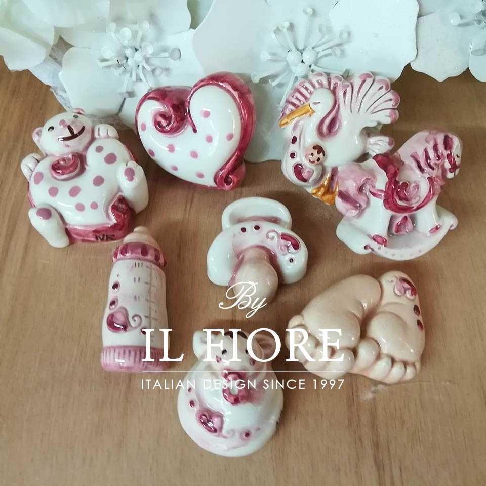 Ceramica - Set calamite misti