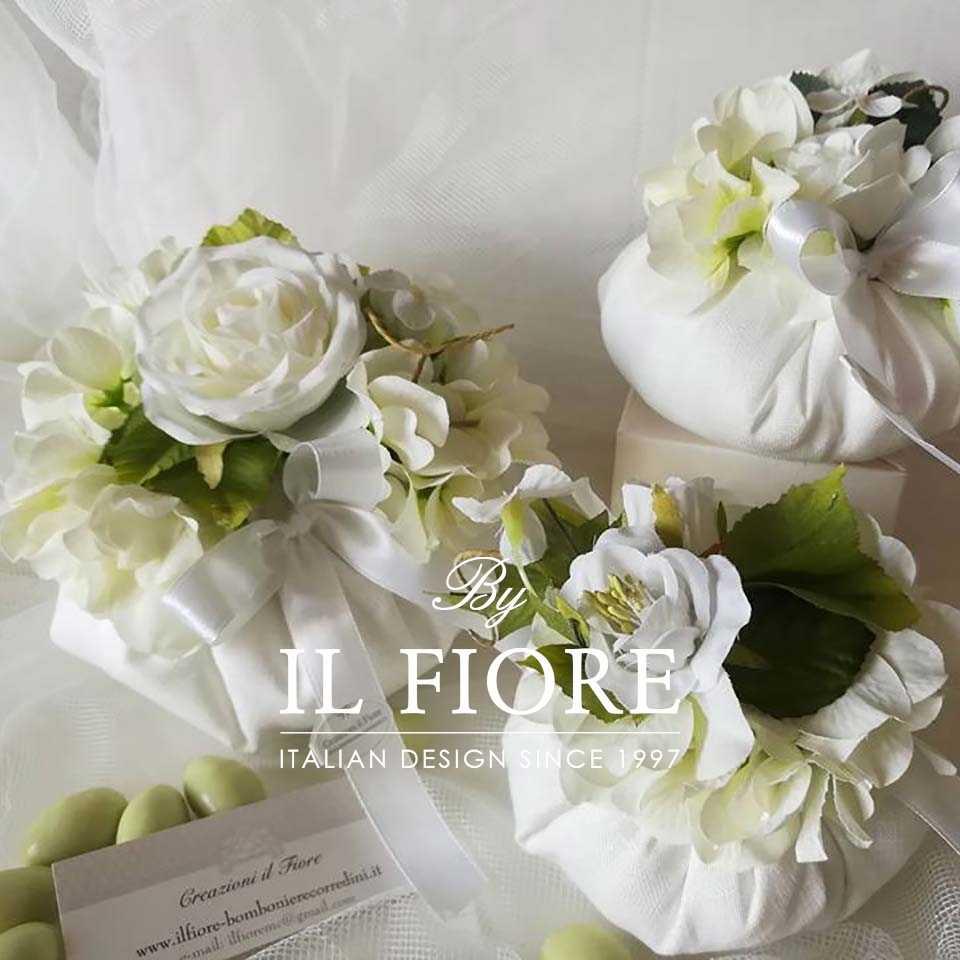 Bomboniere Matrimonio Bouquet Sposa pouf
