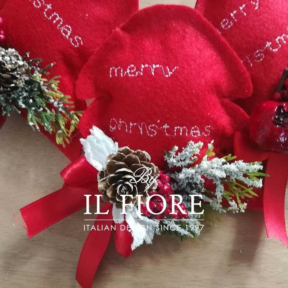 Creazioni Natale Alberelli Alberello Natalizio Ricamato