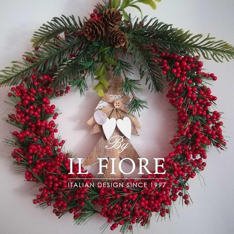 Creazioni Natale Ghirlande Ghirlanda con albero